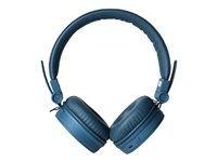 Fresh 'n Rebel Caps Wireless Headphones - Auriculares con diadema con micro - en oreja - Bluetooth - inalámbrico - azul índigo 3HP200IN