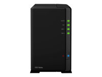 Synology Disk Station DS218play - Servidor NAS - 2 compartimentos - SATA 6Gb/s - RAID 0, 1, JBOD - RAM 1 GB - Gigabit Ethernet - iSCSI DS218PLAY