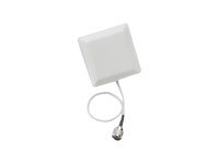 Cisco Aironet Wall/Mast Mount Articulating Patch Antenna - Antena - Wi-Fi - 14 dBi - direccional - exteriores, montaje en pared, montaje en poste, interiores - para Aironet 1522AG Lightweight Outdoor Mesh Access Point AIR-ANT5114P-N=