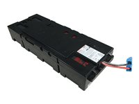 APC Replacement Battery Cartridge #116 - Batería de UPS - 1 x Ácido de plomo - negro - para Smart-UPS X 750 Rack/Tower LCD, 750VA Rack/Tower LCD bundled APCRBC116