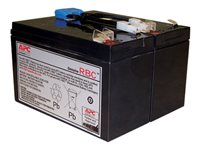 APC Replacement Battery Cartridge #142 - Batería de UPS - 1 x Ácido de plomo 216 Wh - para P/N: SMC1000, SMC1000I APCRBC142